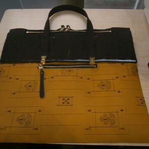 バッグ教室とオーダーのバッグ