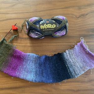 編み物再開