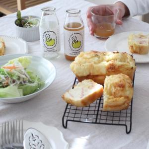 ★朝食にピッタリの有機栽培リンゴジュース♪