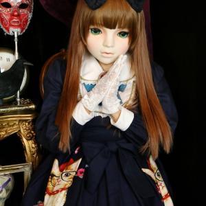 美少女マスク体験スタート!!  ゴスロリ・ロリータ体験 変身写真サテライトドア 大阪