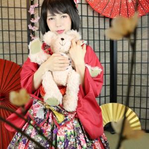 和装ロリータ(和ロリ)体験 大阪府豊中市 変身写真サテライトドア