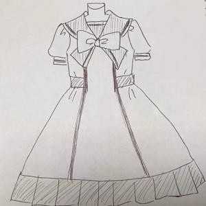 ロリータセーラー服を作ろう!!