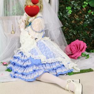 バレリーナ風ロリィタ写真 変身写真サテライトドア 大阪府豊中市 隠れ家的サロン