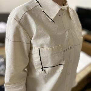 カリキュラムコースの仮縫い風景をご紹介します♪