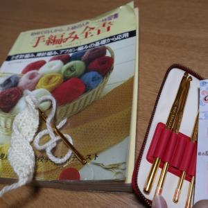 かぎ針編み始めました