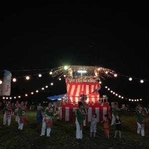 地元夏祭り