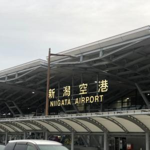 欠航…新潟→東京→大阪