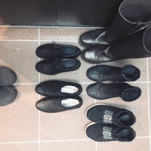 20足のうち5速+サボ 冬の靴の選ぶ私的理由