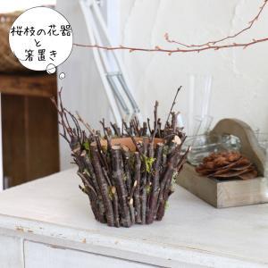 WS開催報告 桜の枝で作る花びんと箸置き