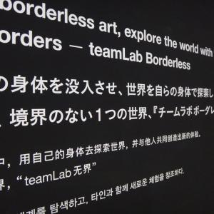 チームラボ ボーダレス 東京・お台場