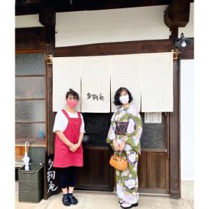 文化財登録された古民家のカフェ『多鞠庵』さん、インテリアがとてもオシャレです❤️