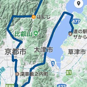 京都市内をドライブ