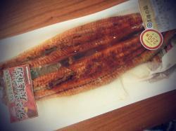 【割引シール大好き♪】鰻の錦糸たまご丼。