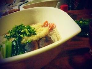 *業務スーパーを味方につけて♪『にゅう麺』の夕食。