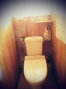 【邪気払い掃除】トイレの模様替え。