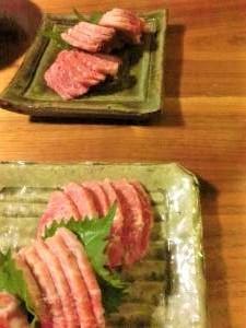 【ふたりで晩酌】桜肉で夏疲れを解消できますように。