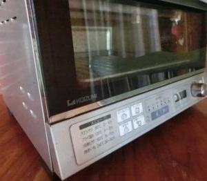【OUCHI家電】KOIZUMI製オーブントースター。