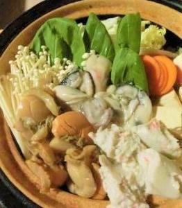 お鍋を食べよう♪ 『海鮮チゲ。』