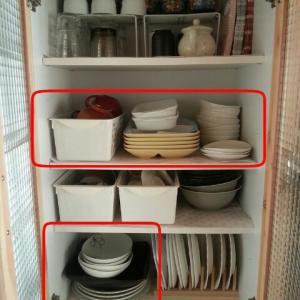■□食器棚の収納☆とりあえず終了。□■