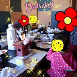 ■□1歳お祝い&地元女子会□■