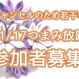 【キャンセルの為追加募集!】若干名参加チャンス☆11/17つまみ放題