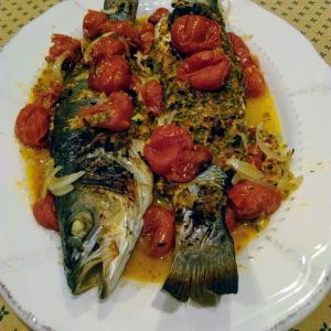 まるごとお魚料理、インド料理に挑戦!