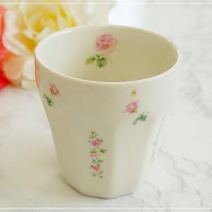 ☆ピンクローズの可愛いカップ☆