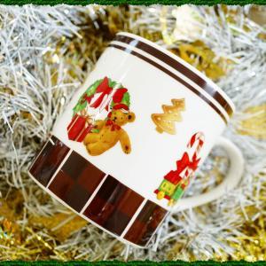 ☆クリスマスには是非お使い下さいね♡可愛いマグカップ☆