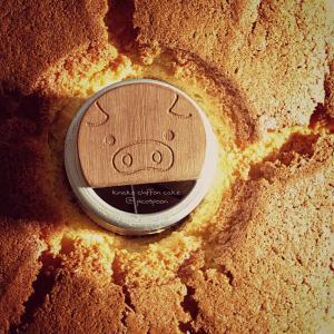きな粉シフォンケーキ