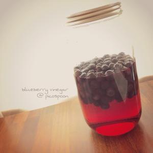 ブルーベリー酢♬