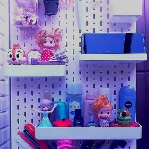 橘品女子ドンドン装飾ボードを使って狭い我が家の机スペースをスッキリ化