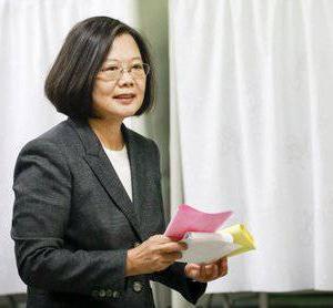 台湾総統から