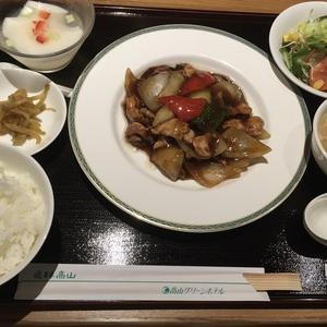 グリーンホテルの中国料理