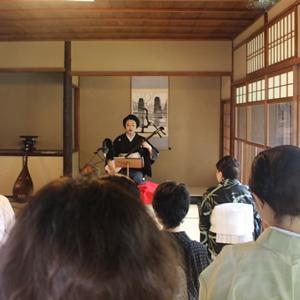 夏の京都を心豊かに味わえる三味線・語り・舞いの会★