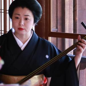 残り4席になりました。京都下鴨で、三味線・語り・舞の伝統芸能に親しむ鑑賞会。