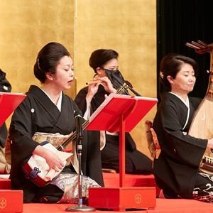 和楽器演奏会の、お打合せでした。