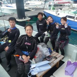 ワイワイガヤガヤと ~糸満近海ボート体験ダイビング~