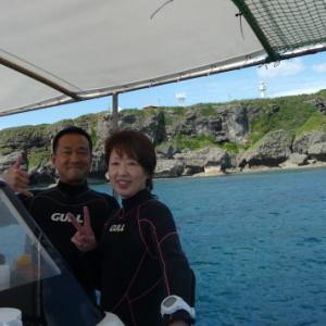 弾丸潜り ~糸満近海ガイド付きボートダイビング(ファンダイビング)~