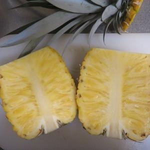 パイナップルは最高に美味しかった。栽培をみんなに勧めたい。