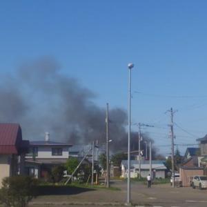 北海道紋別市北浜町3丁目で火事