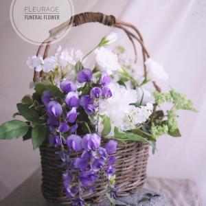 リバーシブル仕様のお供え花