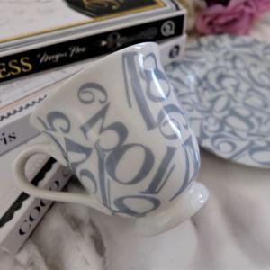 ポーセラーツ★ナンバー転写紙でマグカップ