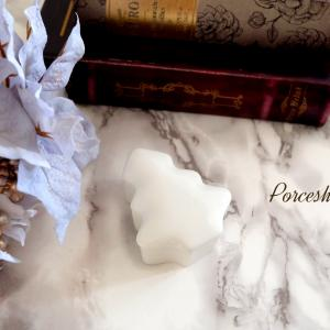 ポーセラーツ☆少し早いですが、クリスマスの白磁入荷中♪