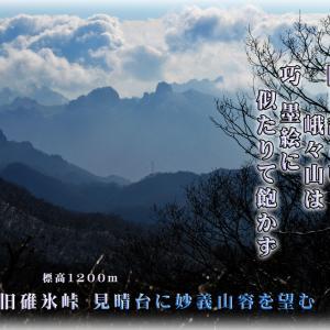 「軽井沢の見晴台から」