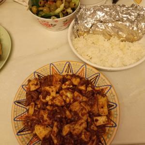 安かった麻婆豆腐の素の辛さ