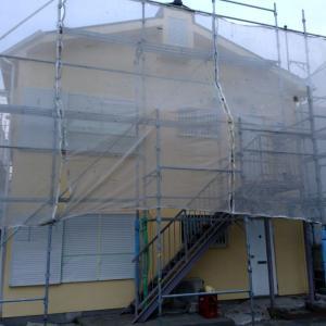 中塗りを見て階段の色をきめよう