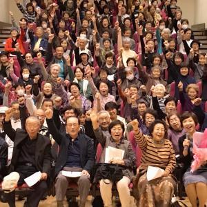 北茨木市で地域福祉・介護予防講演会でした〜!みんなイキイキ