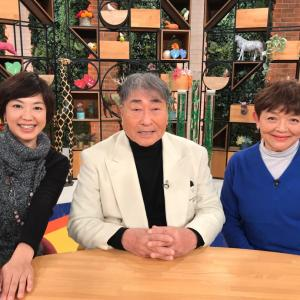 「ハートネットTV介護百人一首」収録でした!NHKEテレで24日25日放送します!