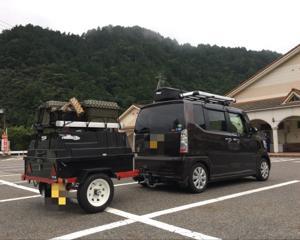 2017.08.05〜06夏休みキャンプ2発目飛騨金山の森キャンプ場