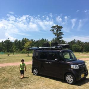 2017.7.22〜23 夏休み一発目!!プールのあるキャンプ場 大淀西海岸ムーンビーチキャンプ場